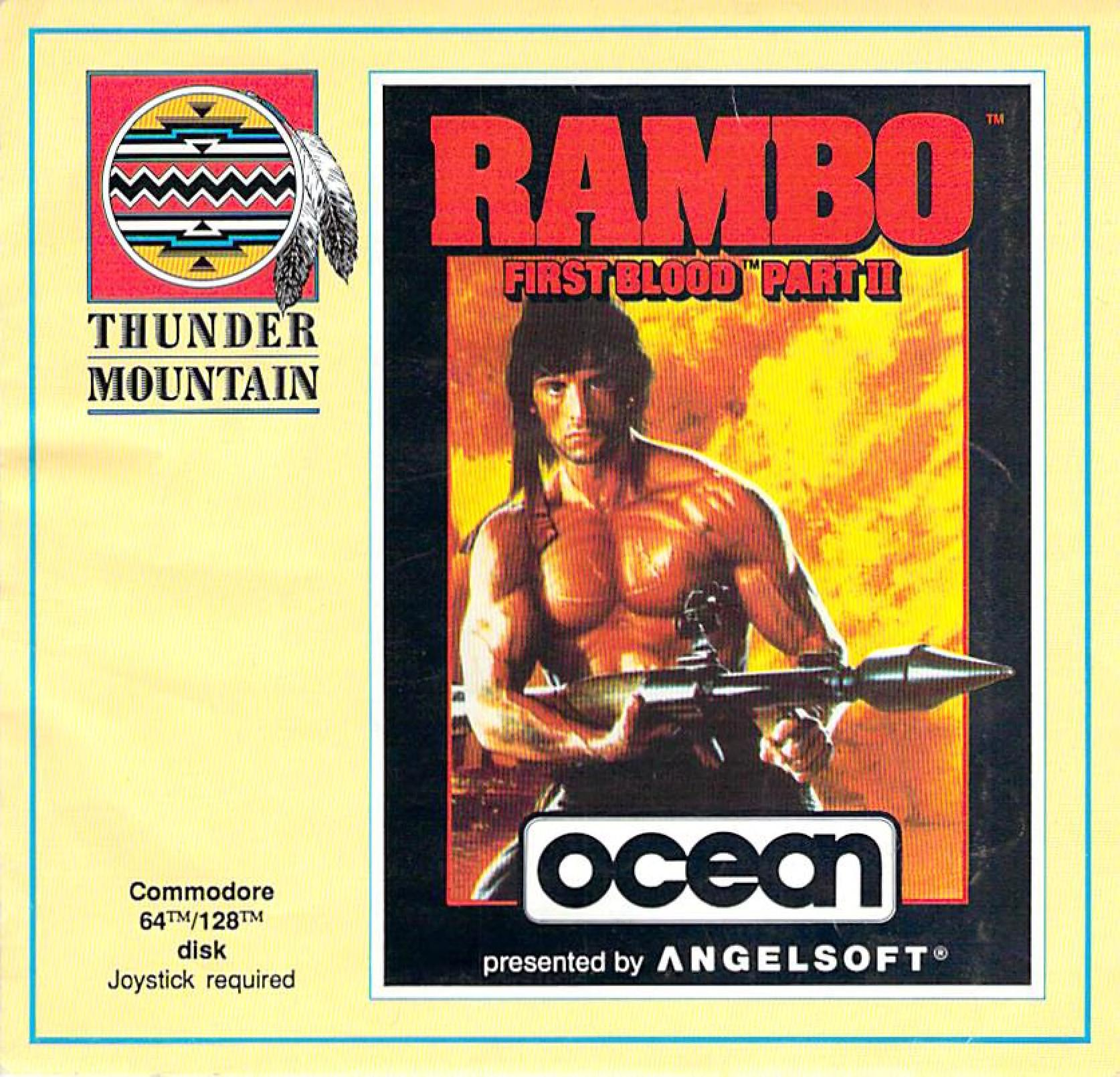 Commodore C64 Manual Rambo First Blood Part Ii 1985 Ocean Free Download Borrow And Streaming Internet Archive