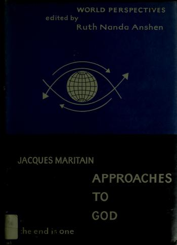 Approches de Dieu by Jacques Maritain
