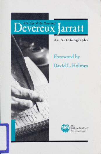 The life of the Reverend Devereux Jarratt by Devereux Jarratt